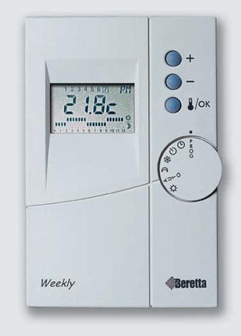 termostato beretta weekly istruzioni infissi del bagno