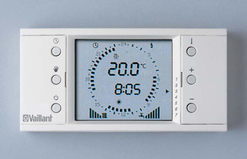 Casa moderna roma italy cronotermostato vaillant for Manuale termostato luna in 20 fi